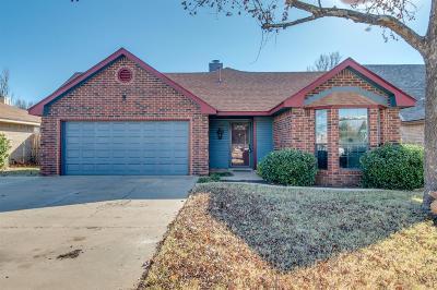 Lubbock Single Family Home For Sale: 2219 91st Street