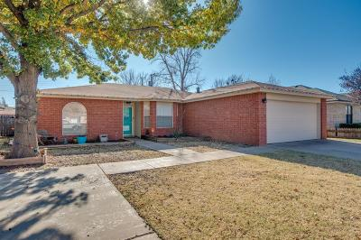 Lubbock Single Family Home For Sale: 4915 64th Street