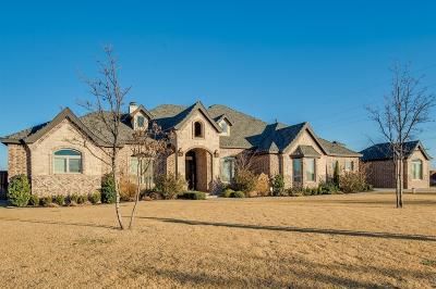 Lubbock TX Single Family Home For Sale: $749,900