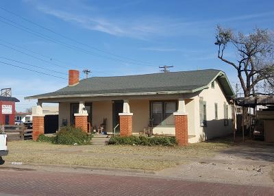 Slaton  Single Family Home Under Contract: 600 South 10th Street