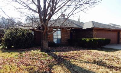 Lubbock Single Family Home For Sale: 5919 75th Street