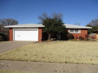 Lubbock Single Family Home For Sale: 3816 38th Street