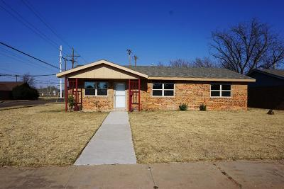 Lubbock Single Family Home For Sale: 5430 35th Street