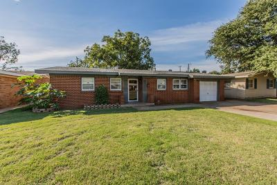 Lubbock Single Family Home For Sale: 4907 44th Street