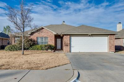Lubbock Single Family Home For Sale: 1926 77th Street