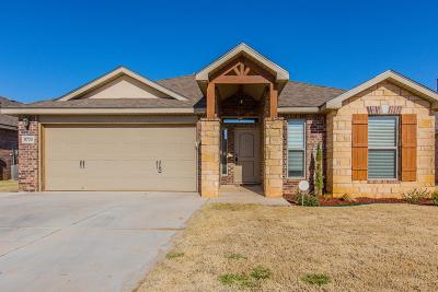 Lubbock Single Family Home For Sale: 5720 111th Street