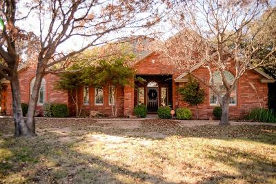 Lubbock Single Family Home Under Contract: 7606 Saratoga Avenue