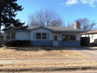 Lubbock Single Family Home Under Contract: 6106 Ave S