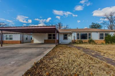 Lubbock Single Family Home For Sale: 4210 43rd Street