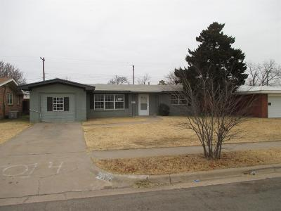 Single Family Home For Sale: 5014 46th Street