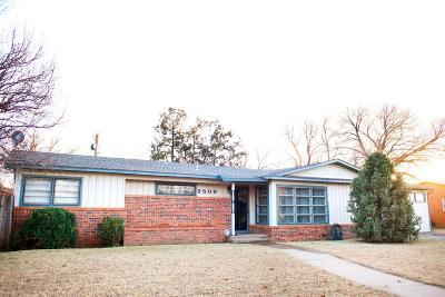 Single Family Home Under Contract: 3509 37th Street