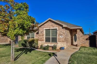 Lubbock Garden Home For Sale: 4402 108th Street