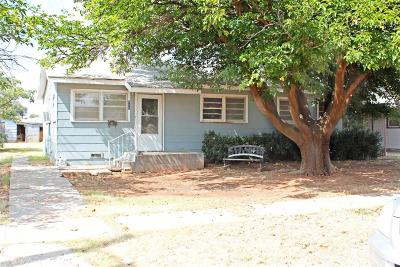 Brownfield Single Family Home For Sale: 711 East Magnolia Street