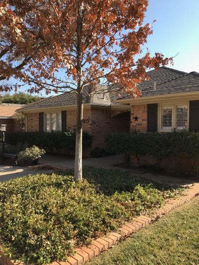 Lubbock TX Garden Home Under Contract: $185,000