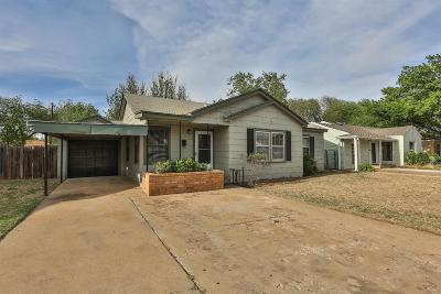 Lubbock Single Family Home For Sale: 3316 28th Street