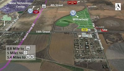 Lubbock County Residential Lots & Land For Sale: 8602 19th Street