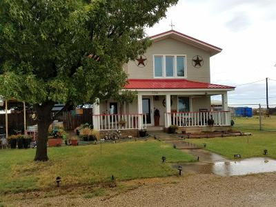Levelland Single Family Home Under Contract: 3266 South Farm Road 2646