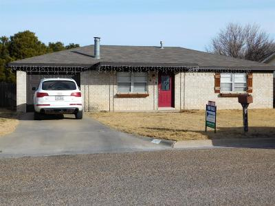 Bailey County, Lamb County Single Family Home Under Contract: 919 E Ivy