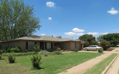 Lubbock Single Family Home For Sale: 4821 7th Street