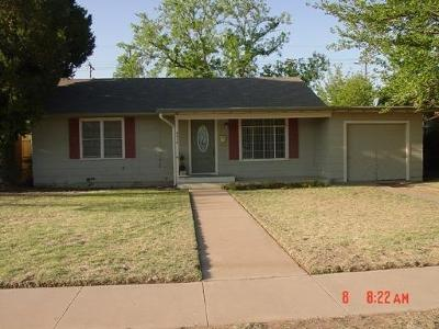 Lubbock Single Family Home Under Contract: 3315 32nd Street