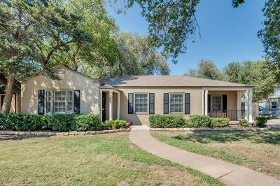 Lubbock Single Family Home For Sale: 2508 24th Street