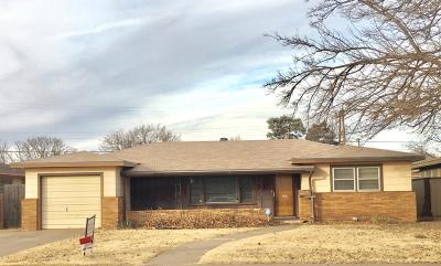 Lubbock Single Family Home Under Contract: 2404 38th Street