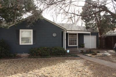 Lubbock Single Family Home For Sale: 3105 26th Street