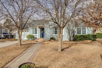Lubbock Single Family Home Under Contract: 3302 25th Street