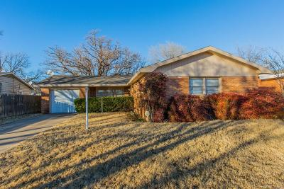 Lubbock Single Family Home Under Contract: 4006 26th Street