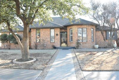 Lubbock Single Family Home Under Contract: 3717 97th Street