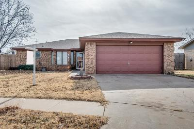 Lubbock Single Family Home For Sale: 3403 102nd Street