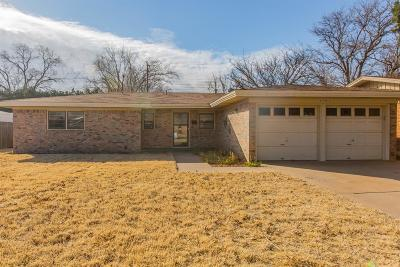 Lubbock Single Family Home For Sale: 4913 18th Street