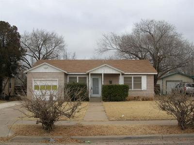 Lubbock Single Family Home For Sale: 2014 64th Street