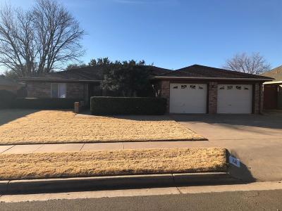 Lubbock Single Family Home For Sale: 5227 88th Street