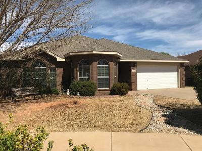 Lubbock TX Single Family Home Sold: $170,000