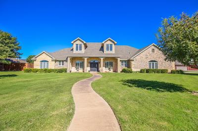 Lubbock Single Family Home For Sale: 5409 County Road 1420
