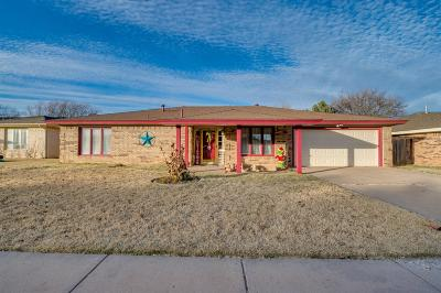 Lubbock Single Family Home For Sale: 5210 87th Street