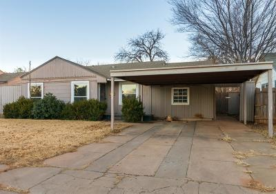 Lubbock Single Family Home For Sale: 2309 32nd Street