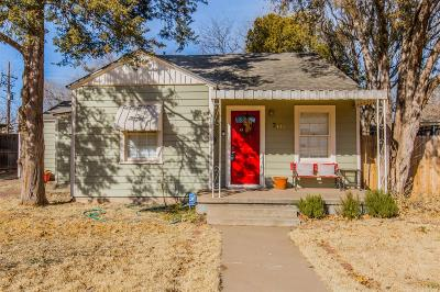 Single Family Home Under Contract: 3112 22nd Street