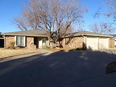Lubbock Single Family Home For Sale: 4516 78th Street