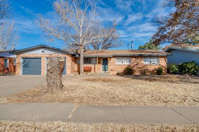 Lubbock Single Family Home For Sale: 3806 39th Street