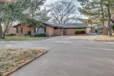 Single Family Home For Sale: 3705 Mesa Road