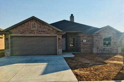 Lubbock Single Family Home For Sale: 7507 86th Street