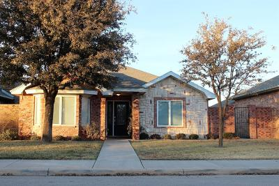 Lubbock Garden Home For Sale: 5814 110th Street