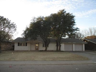 Levelland Single Family Home For Sale: 2014 Tech Drive