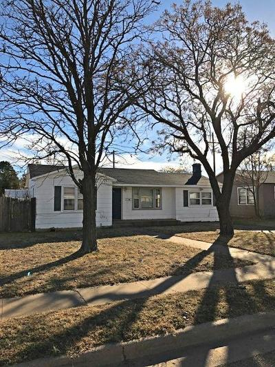 Lubbock Single Family Home For Sale: 1917 43rd Street