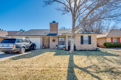 Lubbock Single Family Home For Sale: 3531 102nd Street