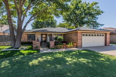 Lubbock Single Family Home For Sale: 5727 67th Street