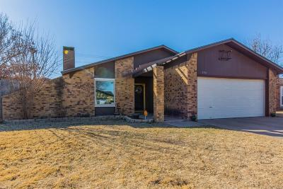 Lubbock Single Family Home Under Contract: 5703 3rd Street