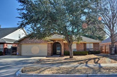 Lubbock Single Family Home For Sale: 8203 Colton Avenue